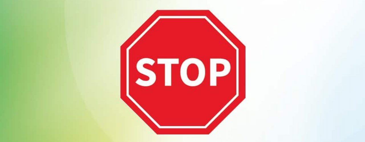 stop bilde